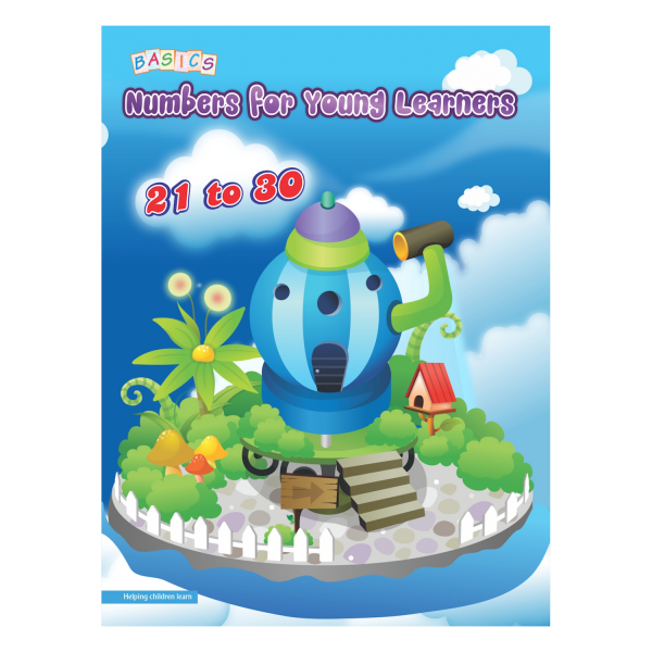Number for Young Learners 21 to 30 - Basics