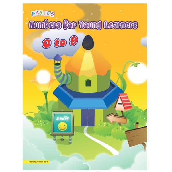Numbers for Young Learners 0-9 Basics Publication - Skool Store