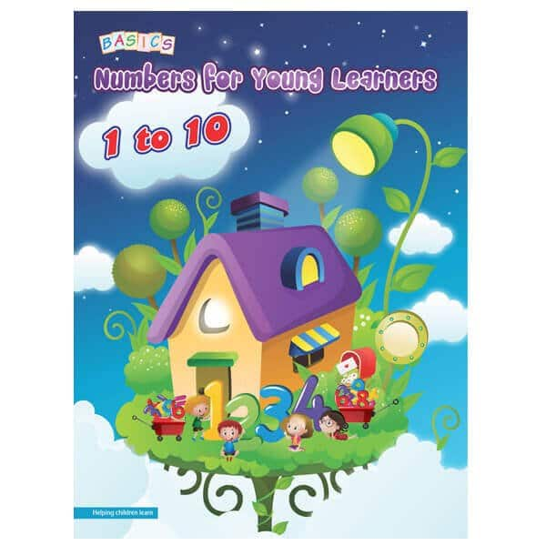 Numbers for Young Learners 1 to 10 Basics publication- Skool Store