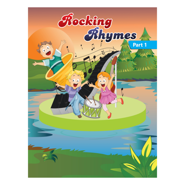 Rising kids - English Rhymes Book for kids Rocking Rhymes Book Part 1