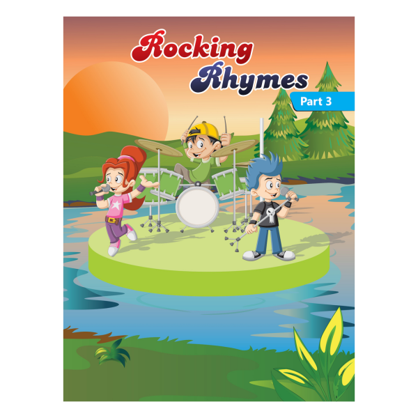 Rising kids - English Rhymes Book for kids Rocking Rhymes Book Part 3