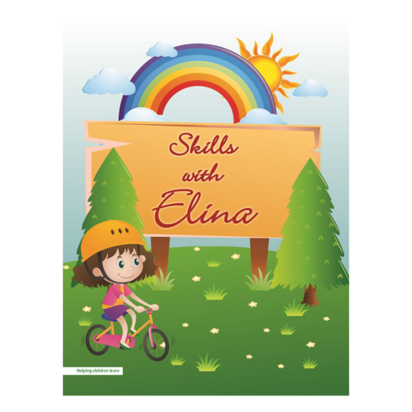 Skills with Elina Alphabet Cursive Writing Book - Basics