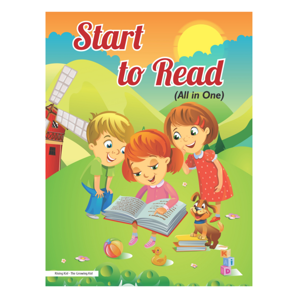 Start to Read (All in One) English, Hindi, Maths - Rising Kids