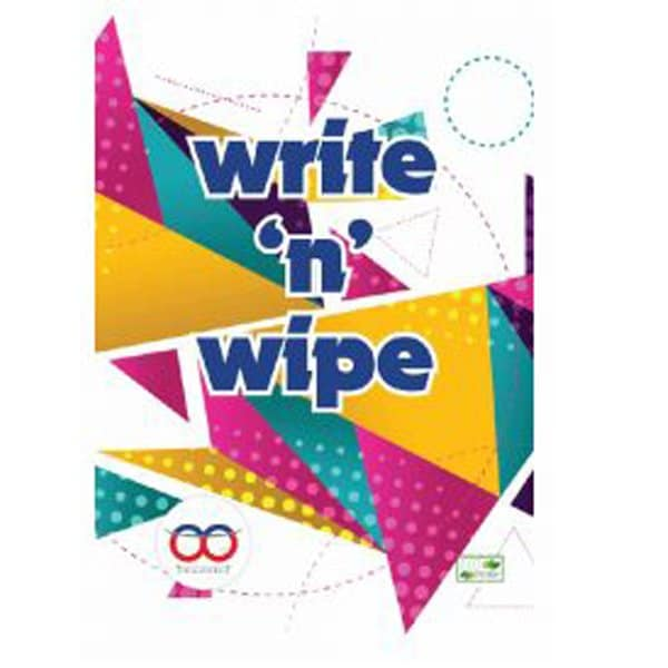 Write And Wipe Book Online - Reusable Book In India - Reusable NoteBook - Skool Store