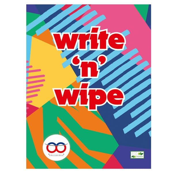 Write And Wipe Book - Reusable Book - Reusable NoteBook - Skool Store