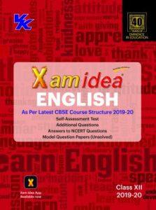 Xam Idea English Class 12th (2019-20)