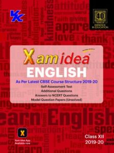 Xam Idea English Class 12th (2019-20)