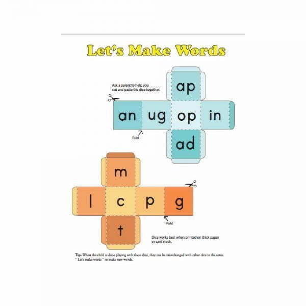 Customised Word Family Workbook 5