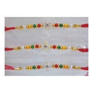 Beautiful Set of 12 Rakhi for your Brother and Cousins