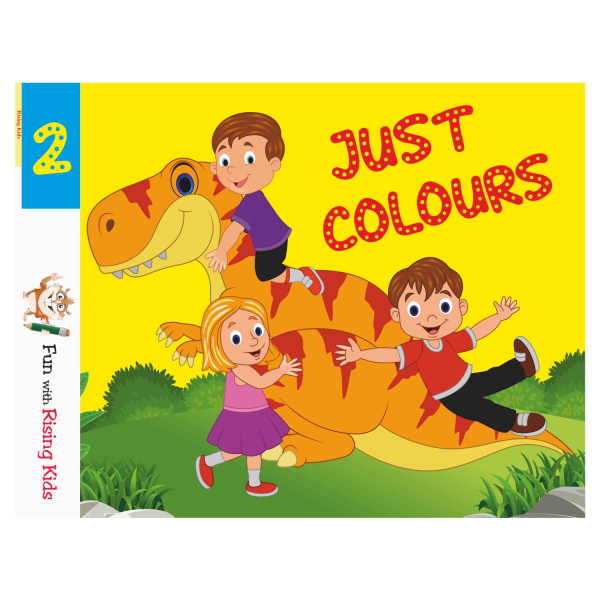 Just Color Drawing Book For Kids Class 2 – Rising Kids