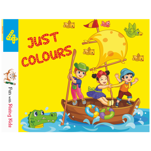 Just Color Drawing Book For Kids Class 4 – Rising Kids