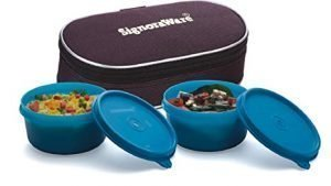 Signoraware Mid Day Lunch Box With Bag