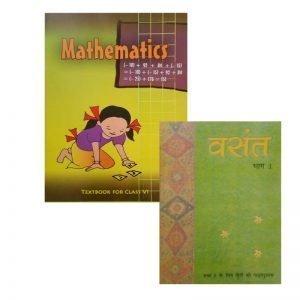 Mathematics Class 6 NCERT, Vasant Part - 1 Combo