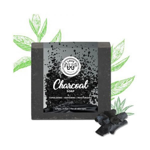 The Love CO charcoal Soap
