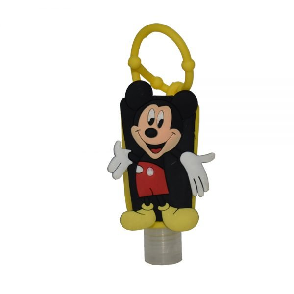 The Love Co. Hand Sanitizer Pack Of 2 (Orange) 30 ml With Bag Tag (Mickey Mouse Yellow)