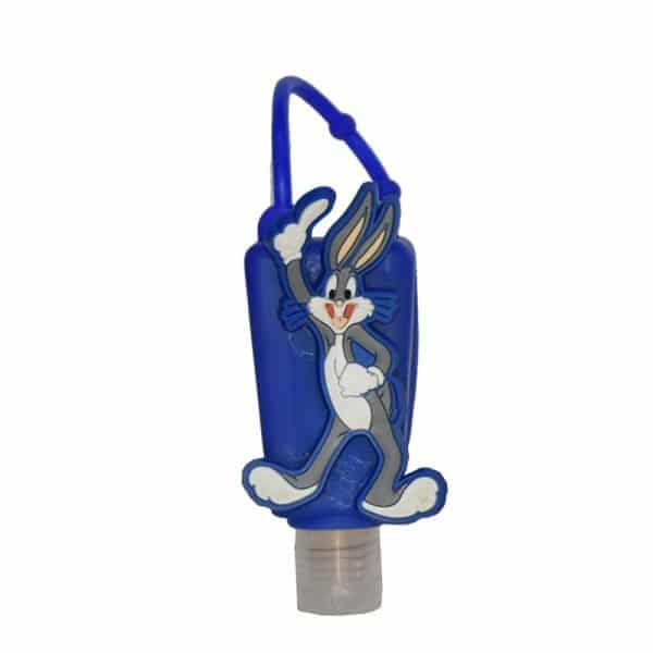 The Love Co. Hand Sanitizer Pack Of 2 (Lemon) 30 ml With Bag Tag (Bugs Bunny Blue)