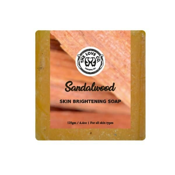 The Love Co. Sandalwood Soap- Hand Made Soap