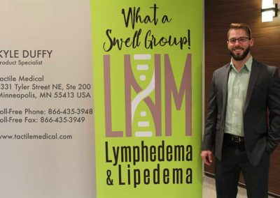 TactileMedical-KyleDuffy-2018-LymphedemaConference