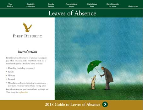 First Republic Leave of Absence Guide