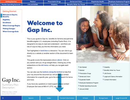 Gap Inc. SPD