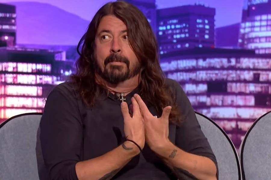 Dave Grohl James Corden