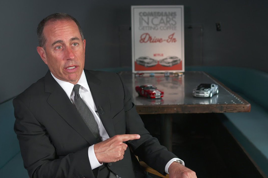 Jerry Seinfeld Comedians in Cars