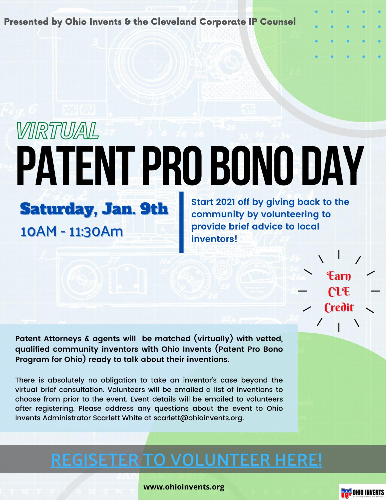 CCIPC Virtual Patent Pro Bono Day