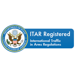 Lattice Materials' ITAR registration seal