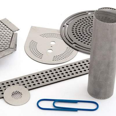 Photochemically Machined Parts by Microphoto