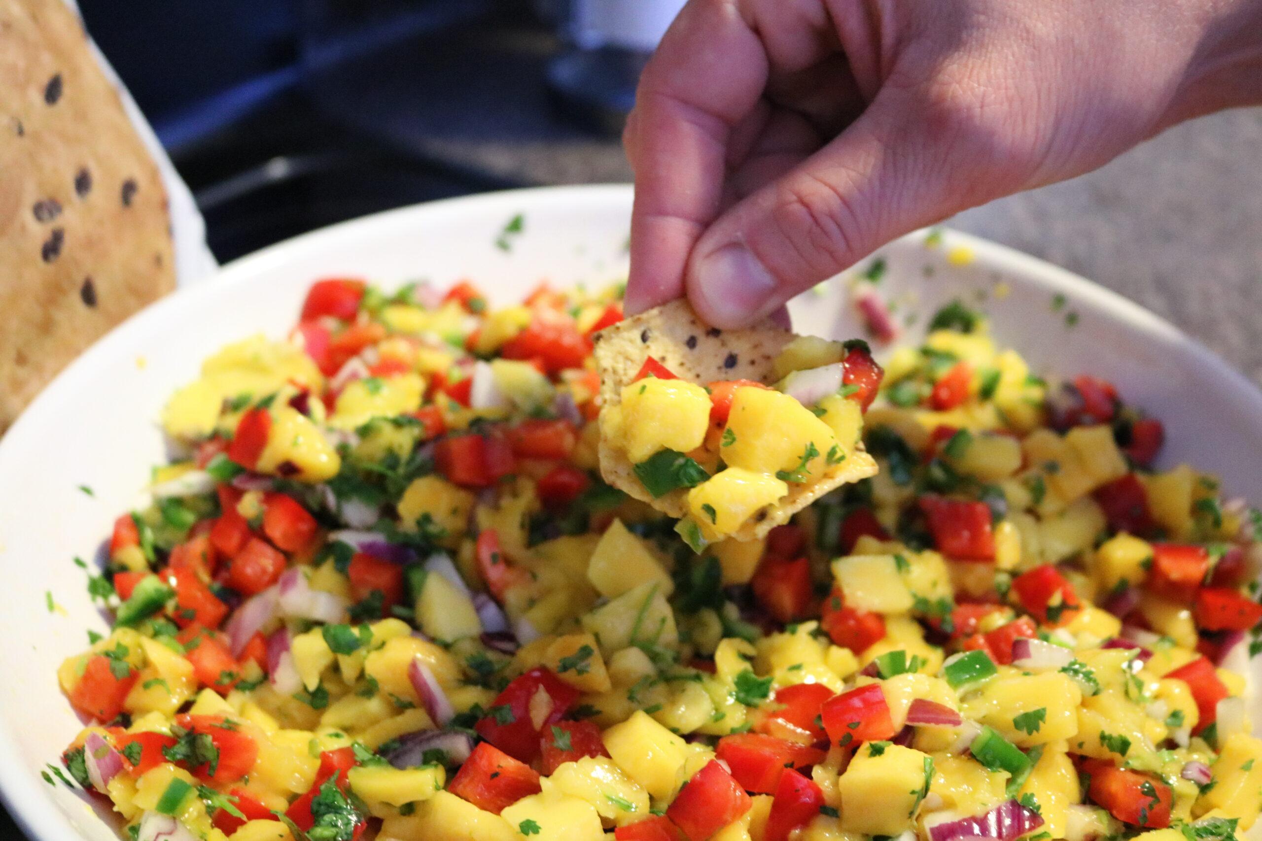 It Takes Two to Mango {Salsa}