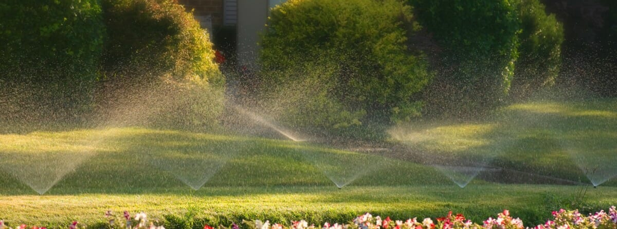 water conservation smart irrigation Arlington Texas