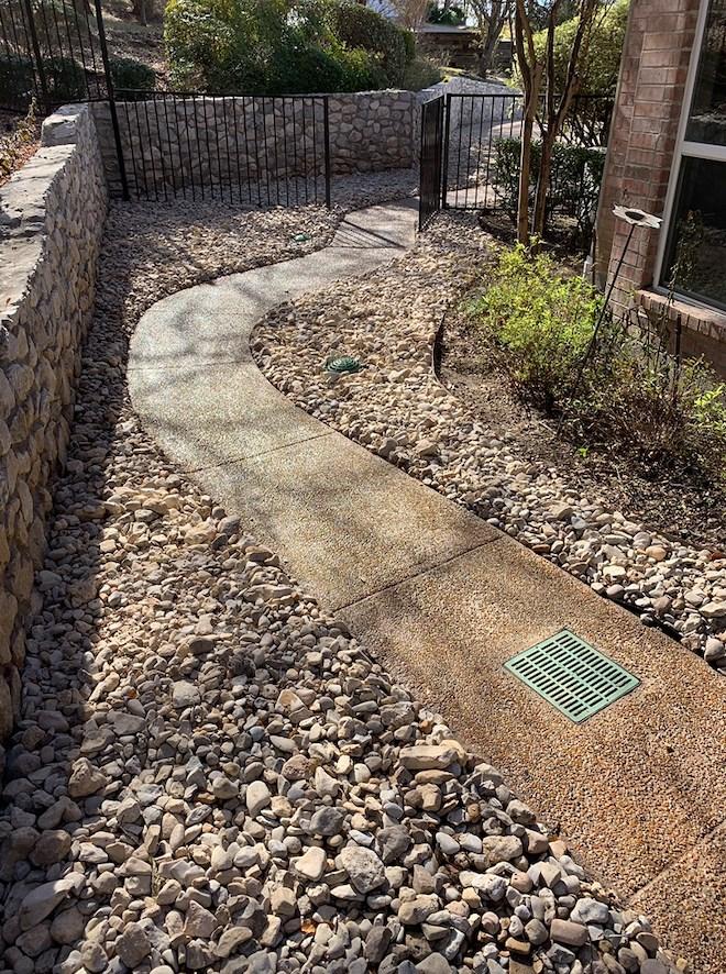 drainage contractor dallas fort worth