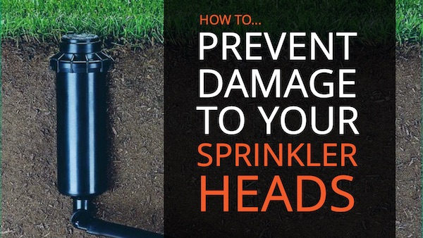 Avoid Broken Sprinkler Heads