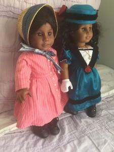 American Girl Dolls, Addy, Cecile, DIY