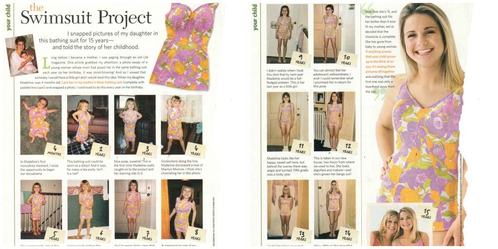 swimsuit project, growth, development, pinterest, parents magazine