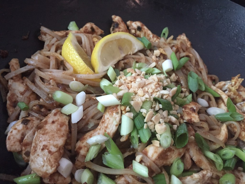 dinner, pad thai, yummy, cooking