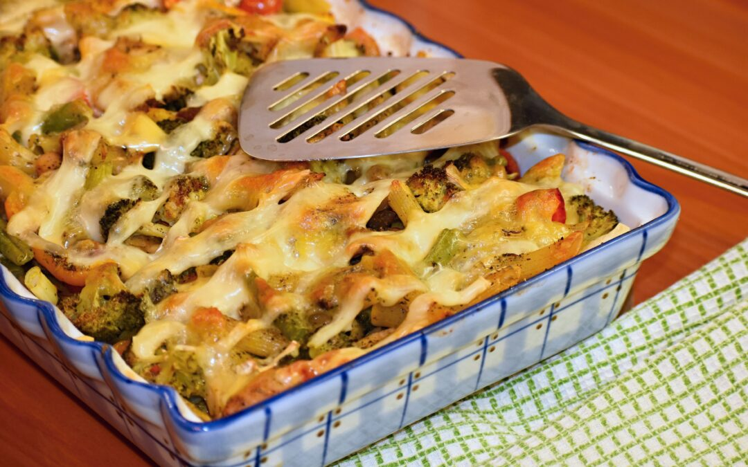 Veggie Packed Baked Ziti