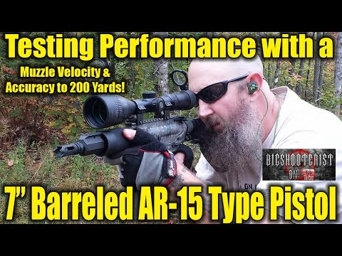 AR-15 Pistol Performance