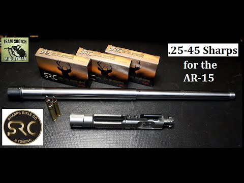 25-45 Sharps for AR-15