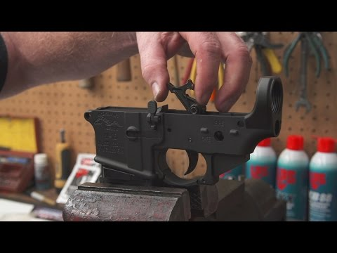 AR-15 Lower Build Demonstration