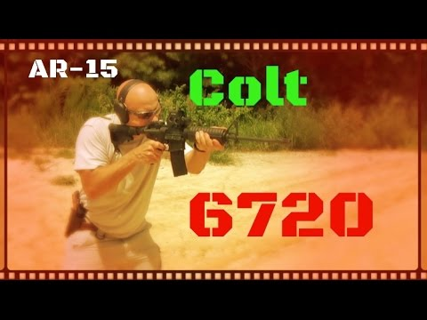 Colt 6720 Lightweight AR-15 Rifle