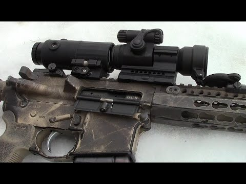 Red Dot and Magnifier Combo