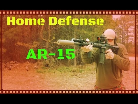 Home Defense AR-15 Setup