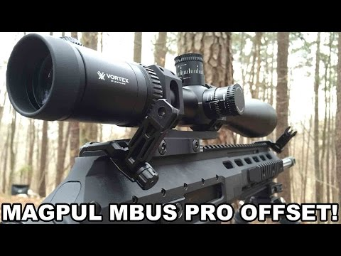 Magpul MBUS Pro Offset Backup Sights