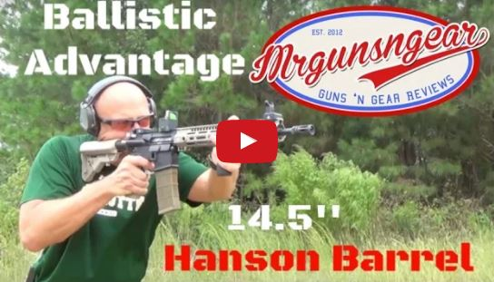 Ballistic Advantage Hanson Midlength AR-15 Barrel Accuracy Test