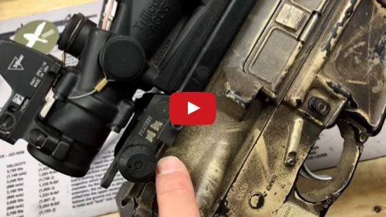 Forward Controls RKM Upgrade for MaTech Backup Iron Sights