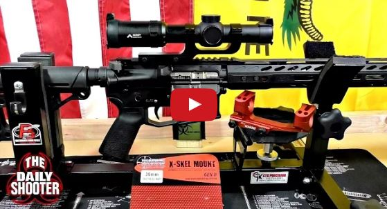 Warne XSKEL30R Gen 2 Extended Skeletonized 30mm MSR Mount Red