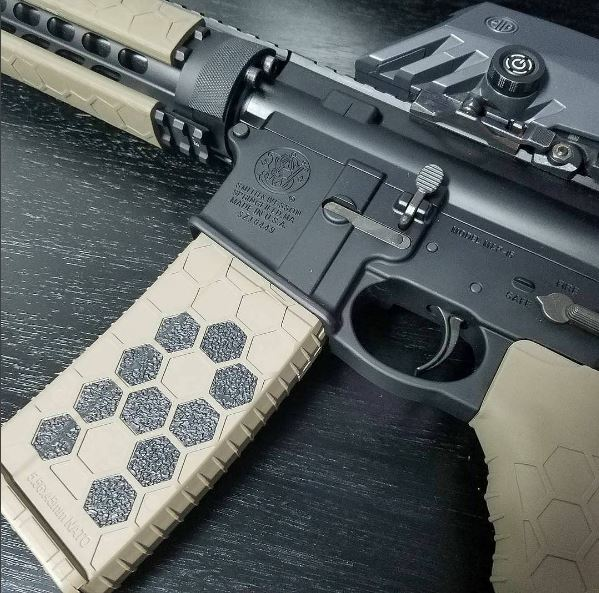 Customizing Hexmag Magazines and Grips with Hexmag Grip Tape