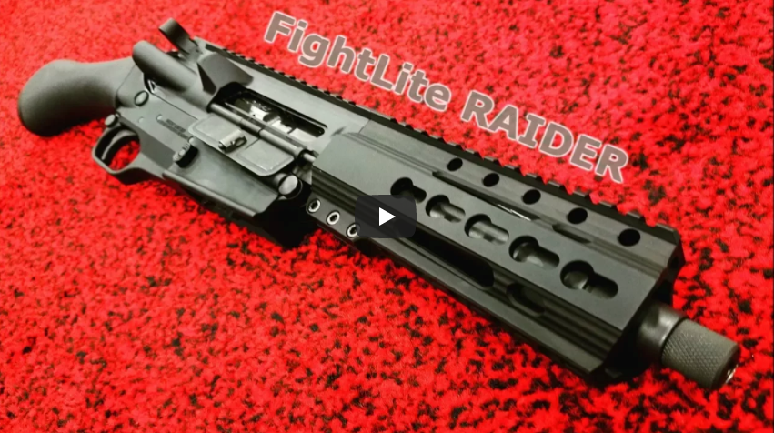 FightLite Raider Pistol Available in 5.56 or 300 BLK