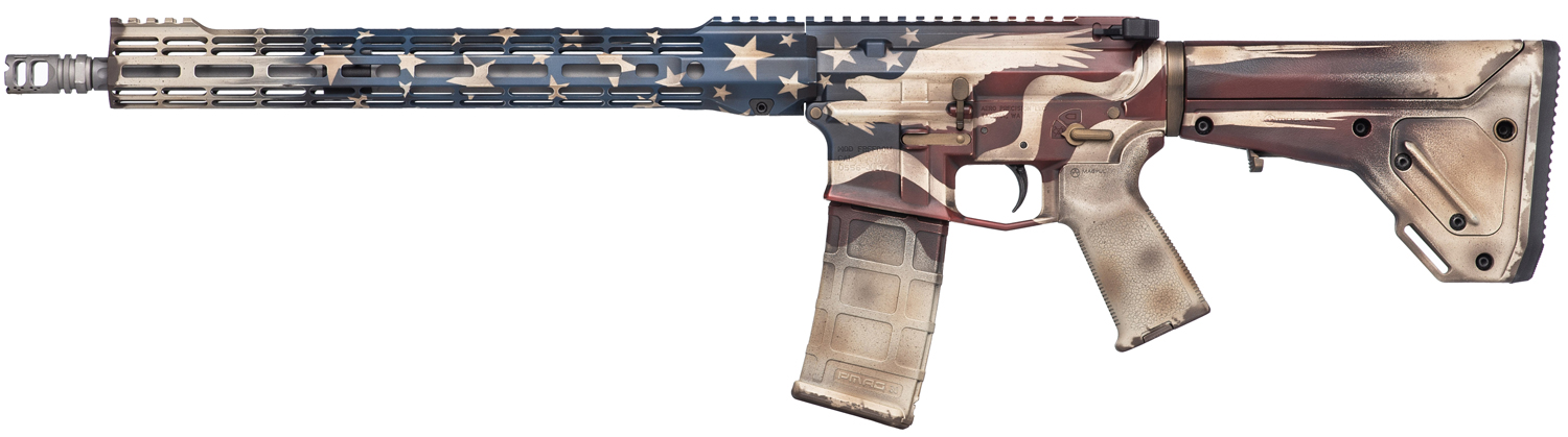 Aero Precision Battleworn Soaring Freedom Giveaway Rifle